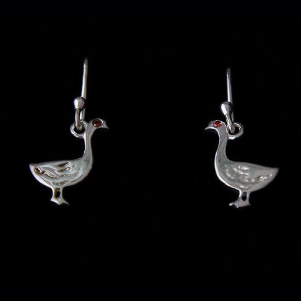 Goose Dangly Earrings