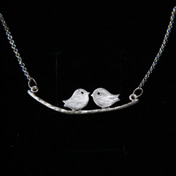 8eb1ea63867f4e Purple Crystal and Sterling Silver Owl Necklace – Peck & Feather