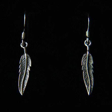 Pretty Feather Earrings