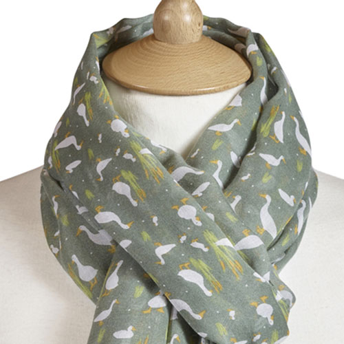 Duck Scarf Green