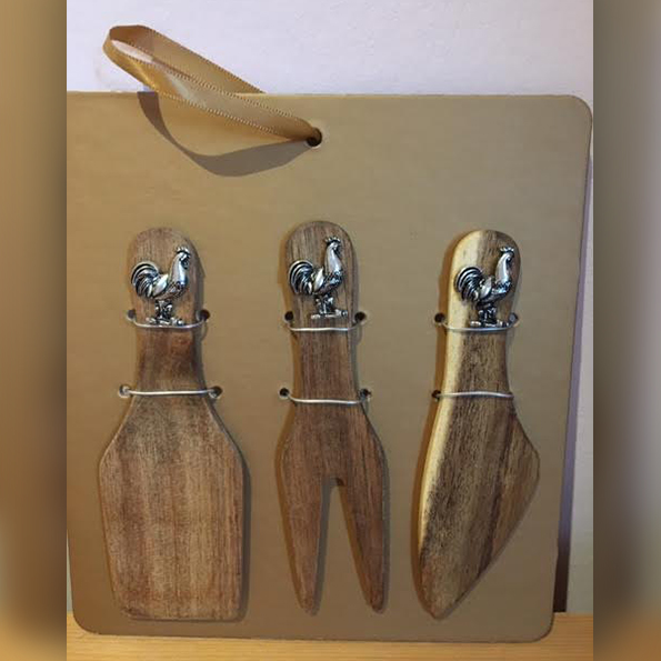 Wooden Cheese Servers